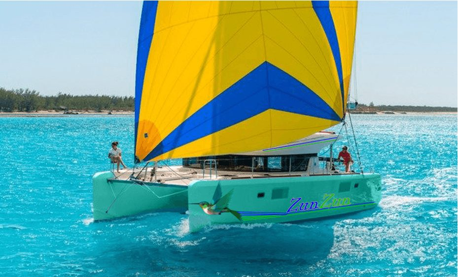 Zunzun_Sailing_Yacht_n_Floating_Massage_Spa_Seafoam_Green_n_Hummingbird