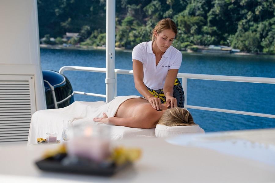 Caribbean Yacht-Massage