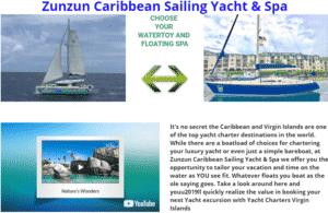 zunzun caribbean sailing yacht & spa