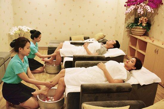Floating Massage Spa